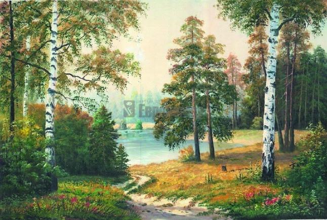 фото русский лес